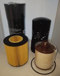John Deere 6081AFM75 filters